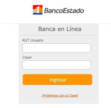 Banca en Línea Banco Estado
