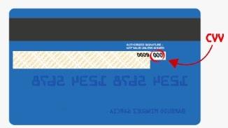 CVV tarjeta cuenta rut
